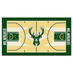 Milwaukee Bucks Large Court Runner (29.5x54)