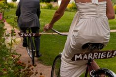 LAUREN....bikes...might be a hassle...but would be such a fit with your engagement picks!!!