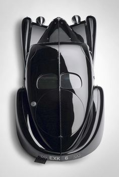 Bugatti EXK 6, these were completely hand formed aluminium bodys that were riveted together on seams that look like long blades running down the body