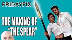 """FridayFix • Making of """"The Spear."""" Fun vid of Frank Ippolito, A Kovacs and I making the prop spears from my new novel ALIVE.   EPISODE SPONSOR: Our Shipstation trial page at http://scottsigler.com/shipstation"""