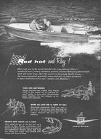 Century Colt Runabout Boat 1956 Ad Picture
