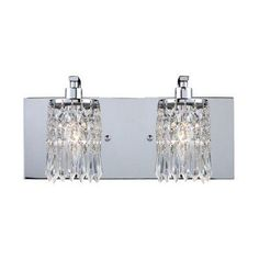 ELK Lighting Optix 2-Light Bathroom Vanity Light 11229/2 - 14W in. - 11229/2