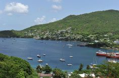 Travel the world. Admiralty Bay, Bequia, West Indies