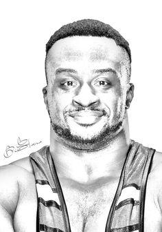 WWE Big E Pencil by edaba7.deviantart.com on @DeviantArt