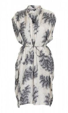 Fern Silk Dress by Plumo