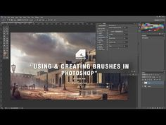 Using & Creating Brushes in Photohop - Architectural Visualisation - YouTube