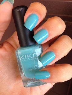Pretty Little Nails: Kiko 344 - Verde Nebbia Marina