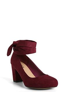 Faux Suede Lace Up Pumps Wide Width ** Be sure to check out this awesome product.(This is an Amazon affiliate link and I receive a commission for the sales)