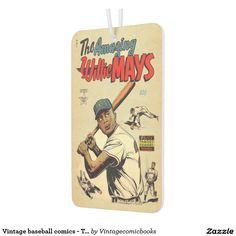 Vintage baseball comics - The amazing Willie Mays #vintagecomicbooks #baseball #marvel #dccomics #theamazingwilliemays #comicbook #sports #williemays