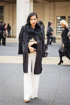 Fall 2013 New York Fashion Week Street Style - NYFW Street Style Fall 2013
