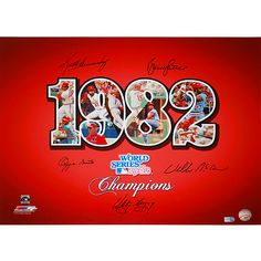 1982 St. Louis Cardinals World Series Champions
