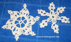Crochet Snowflakes If you tell others about my work, please only link back to my blog, but don't copy my patterns to your site. Also you can sell anything you make from my patterns, but don't sell the free pattern. Thank you! My Crochet You Tube Channel:https://www.youtube.com/user/amray767 These