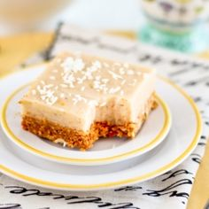Healthy Meyer Lemon Squares by TheHealthyFoodie