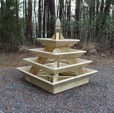 This unique pyramid planter is great for growing strawberries, flowers, and herbs. The planter is 3 ft. tall and just over 4 ft. wide. The downloadable plans include instructions and full color photos at every step! Ill show you to build this planter from beginning to end. The planter is
