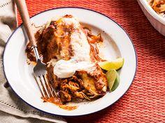 Turkey Enchiladas Recipe | Epicurious.com 1 h 30 min
