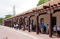 Palace of the Governors,New Mexico