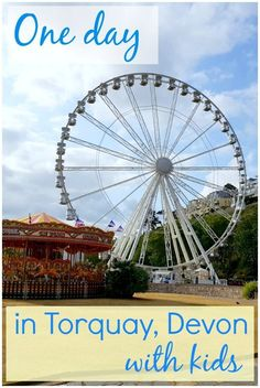 One day in Torquay with kids - discovering the English Riviera on a family holiday to south Devon, including a visit to Kents Cavern and Living Coasts, plus more things to do in Torquay with kids and places to eat. Days Out With Kids, Family Days Out, Amazing Destinations, Holiday Destinations, Travel With Kids, Family Travel, Leisure Pools, Travel Inspiration, Travel Ideas