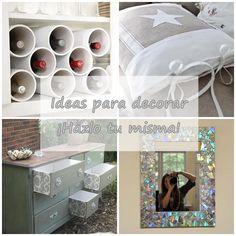 8 Ideas para decorar nuestra casa, ¡hazlo tu misma!