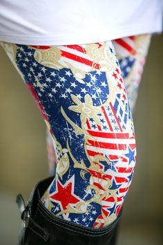Let Freedom Ring Leggings