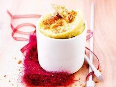 Mug cake figues et foie gras (2 mn au micro-ondes)