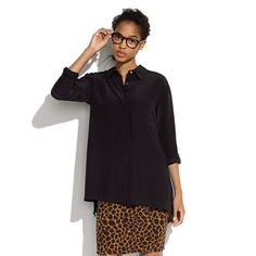 Wild Structure   { Silk Shadowlight Top by Madewell }