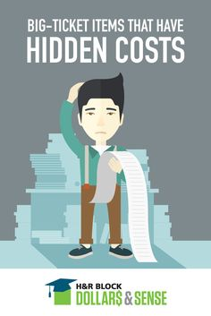 Saving for expensive things is half of the battle. Do your teens know about the hidden costs associated with big-ticket items?