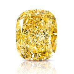 Graff Unveils 132 carats Golden Empress, Fancy Yellow Color Diamond ~ Suranas Jewelove