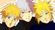 Kakashi, Boruto, Naruto And Sasuke Kiss, Naruto Sage, Naruto Shippuden Sasuke, Anime Naruto, Minato Kushina, Otaku Anime, Manga Anime
