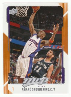 Amare Stoudemire # 124 - 2008-09 Upper Deck MVP Basketball