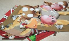 Busy Bag or Toddler Activity: DIY Magnetic Farm Animal Play