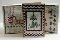 "Carta Bella ""So This Is Christmas"" Cards"