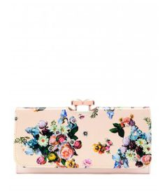 Ted Baker Enna oil painting matinee purse