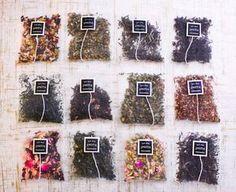 Smith Teamaker loose leaf teas in oversized sachets for the perfect steep Homemade Tea, Ideias Diy, Tea Packaging, Flower Tea, Earthship, Tea Blends, Loose Leaf Tea, Kakao, Tea Recipes