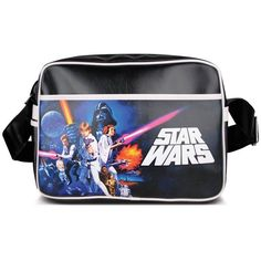 Star Wars Retro Bag ($25) ❤ liked on Polyvore featuring bags, handbags, retro handbags, retro bag, pocket purse, retro purse and pocket bag