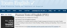 Practice listening, speaking and reading tests for Pearson