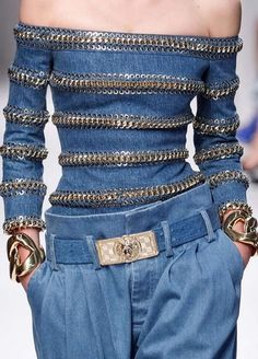 Pierre Balmain details : really like the concept of this