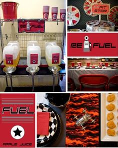 Cars theme birthday party