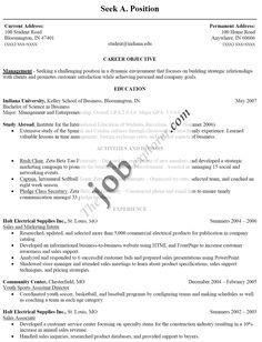 sample resume for fresh college graduate httpwwwresumecareerinfo