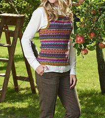 9bc2b5d7c Get to grips with fabulous Fair Isle and hook a colourful tank top by  Simone Francis