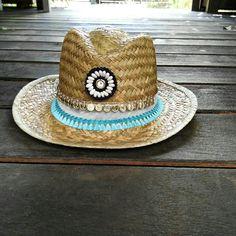 Sombrero de playa étnico hippiechic Limited Edition Anna Civis. c0d2d42194a