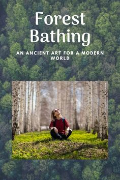 The art of forest bathing. Why do people do it, how do you do it and where should you do it? Find out about why you should take time to enjoy forest bathing.