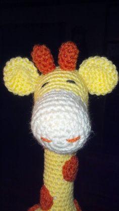 Jerry Giraffe Crochet Plushie Amigurumi by NiceHeartGifts on Etsy