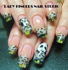 #nail #nails #nailart #nailporn #nailideas #naildesign #trendynails #gelnails #gelpolish #nailpolish #art #gelmanicure #manicure #handpaintednailart #pandas #black #white #blackandwhite #French #frenchmanicure #butterflies #summernails #springnails #squarenails