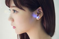 LED Earring - not technically smart jewelry but still tech-y and beautiful!