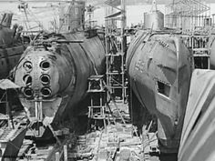 Shipyards that shared the fate of the German U-boats in 13 impressive images