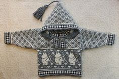 Trendy winter cardigan for children with moomin by LanaNere Knitting For Kids, Baby Knitting Patterns, Free Knitting, Punto Fair Isle, Norwegian Knitting, Baby Jumper, Winter Sweaters, Winter Cardigan, Yarn Crafts