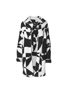 Utra graphic soft cardigan - By Malene Birger Autumn Winter 2014 - Women's fashion