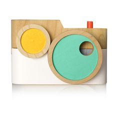 The Twig Co. | Choose your color palette for these interactive wooden toy cameras.