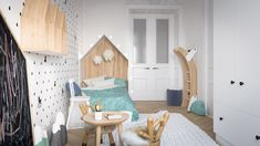 Roohome.com - We must be selective to choose the design for our kids. If we want to make it looks modern and attractive, stylish kids room designs like the following picture below are the best option. The selection of creative design is suitable for decorating your children bedroom. The use of bright and attractive ...