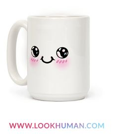 This kawaii coffee mug is perfect for all your adorable, kawaii anime needs. Being chibi isn't easy, but this little mug has it down pat. Whether it's for coffee, tea or melon soda, this little fella is there for you! So stay cute and drink with this kawaii coffee mug to keep you company!